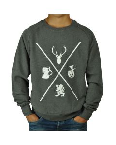 BAVARIAN CROSS SWEATSHIRT